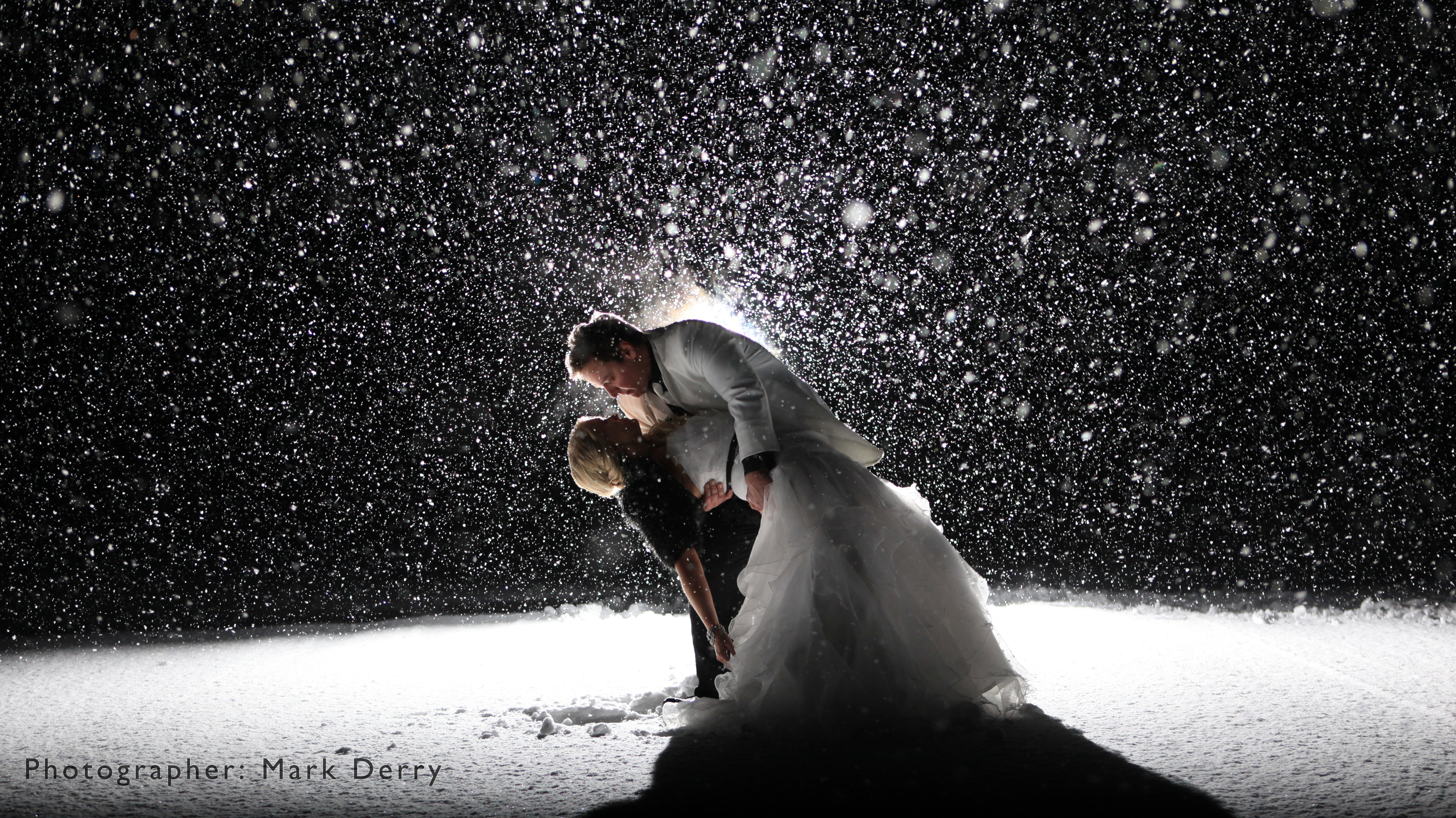 Mark Derry - Wow Winter Wedding Photo