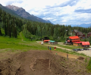 Seven new jumps and a berm were added to the end of the DJ line. That doubles the count. How fun is that!