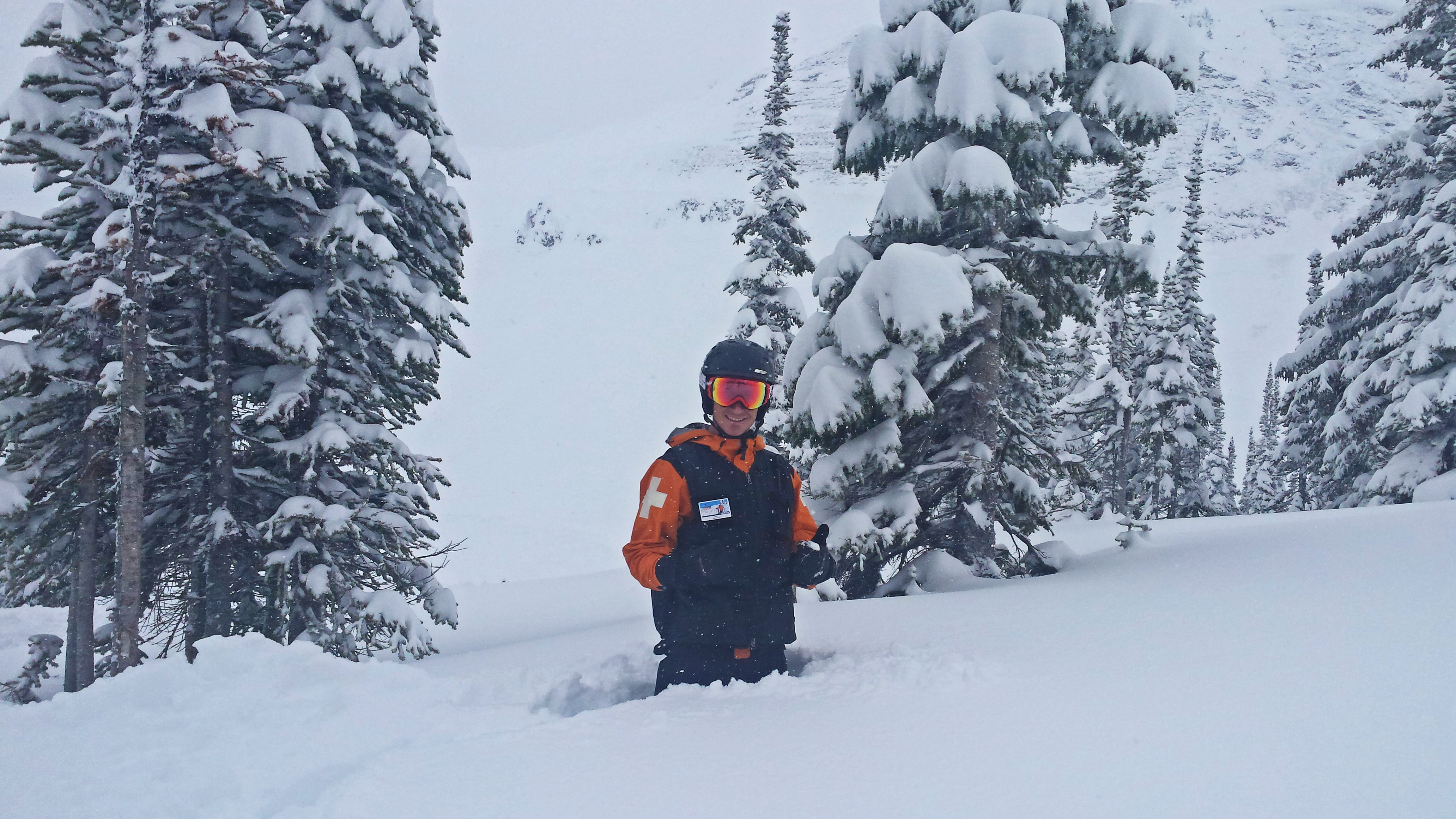 kicking up a storm for you - kicking horse mountain resort is