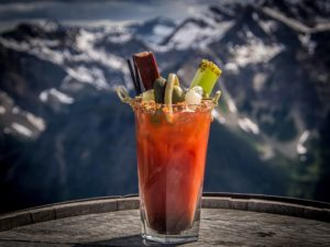 Drink at Kicking Horse - Eagles Eye Restaurant